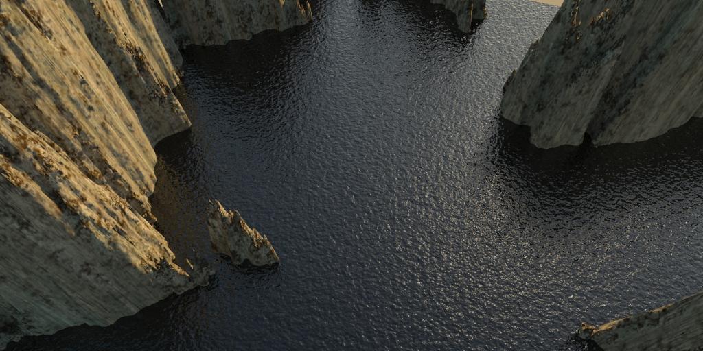 táj - sziklás szigetek 01 3d modell 3ds max 141830
