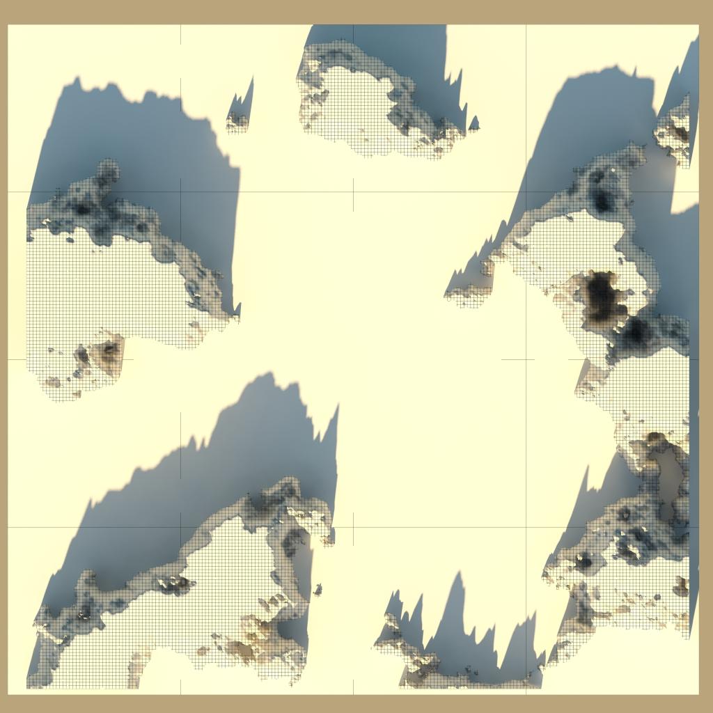 táj - sziklás szigetek 01 3d modell 3ds max 141833