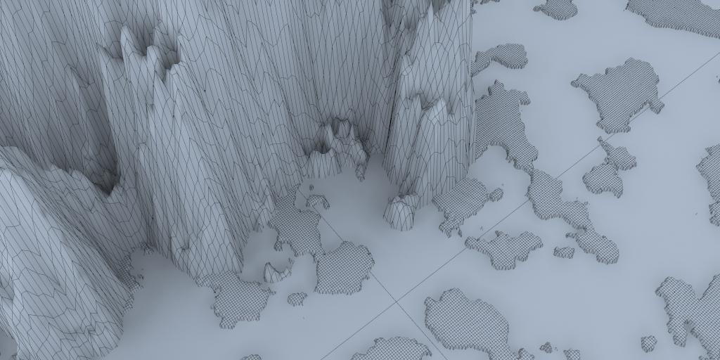 táj - sziklás szigetek 02 3d modell 3ds max 141824