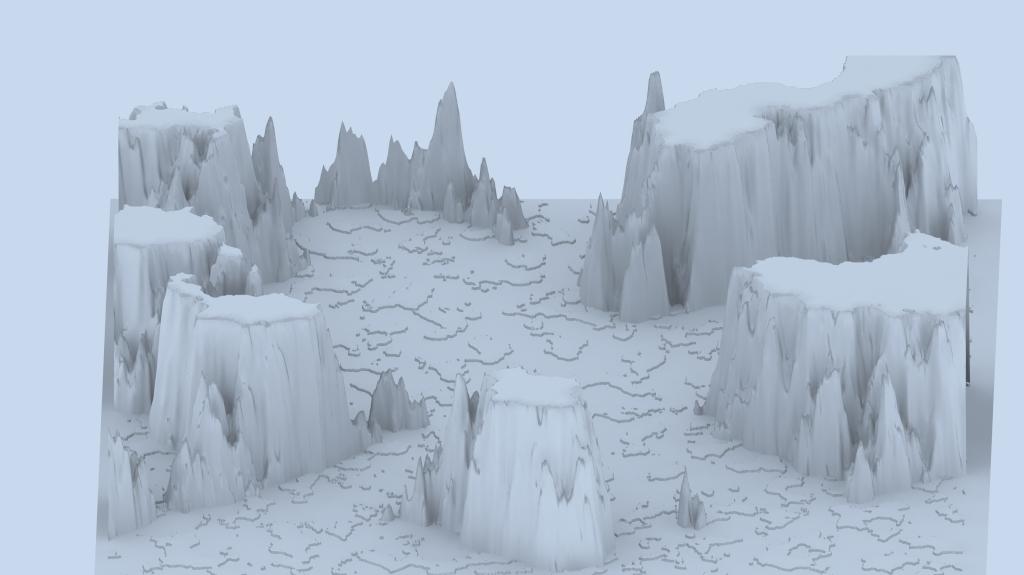 táj - sziklás szigetek 02 3d modell 3ds max 141825