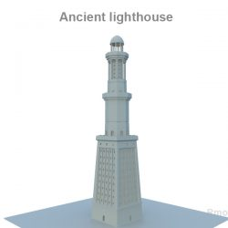 LightHouse 3d model 0