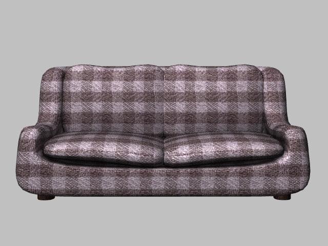 love seat sofa (also poser version) 3d model pz3 pp2 obj 154653