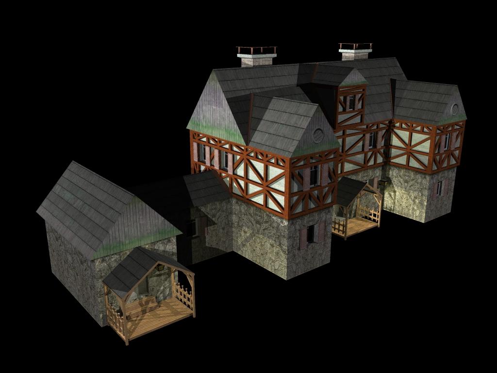Medieval House 2 ( 288.27KB jpg by gorandodic )