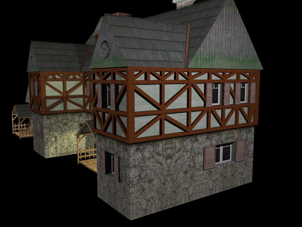 Medieval House 2 ( 422.61KB jpg by gorandodic )