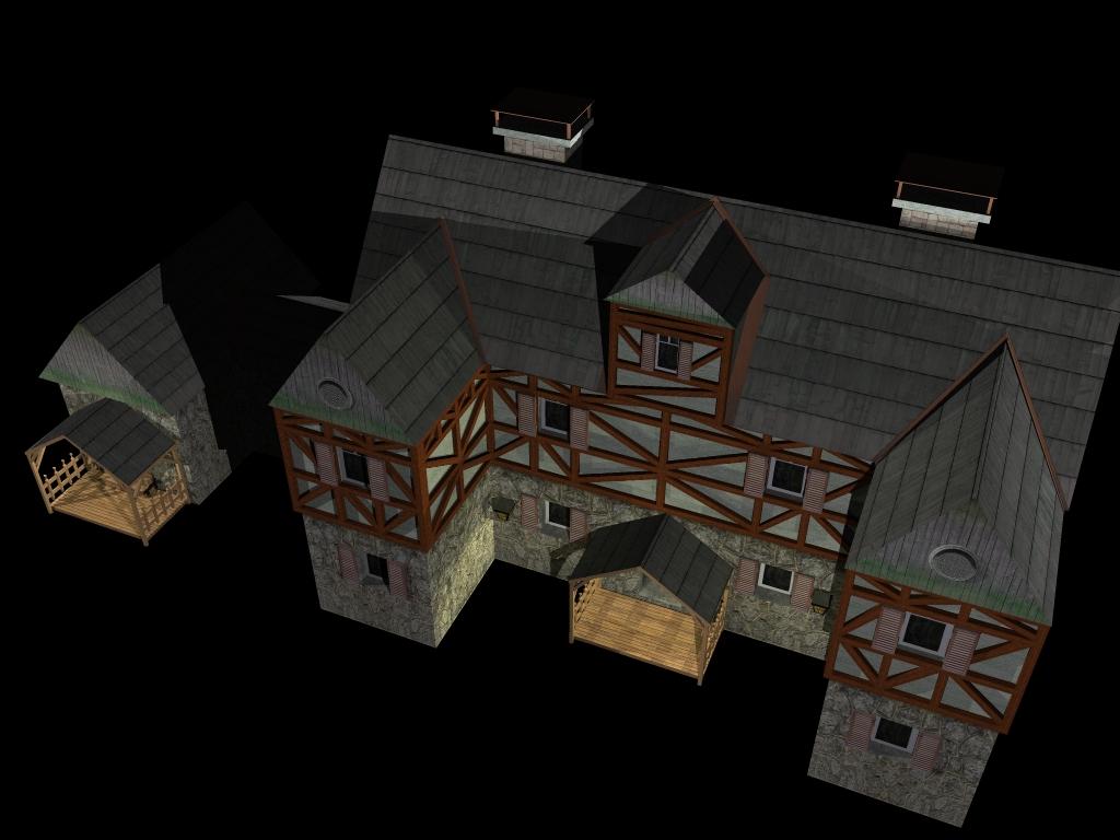 Medieval House 2 ( 315.15KB jpg by gorandodic )