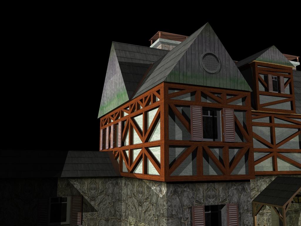 Medieval House 2 ( 404.01KB jpg by gorandodic )