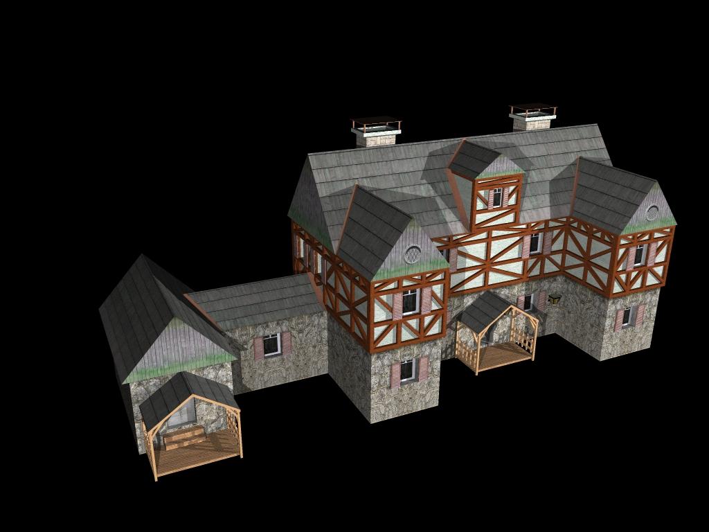 Medieval House 2 ( 275.4KB jpg by gorandodic )