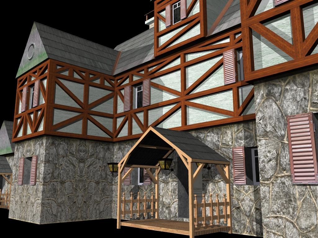 Medieval House 2 ( 710.93KB jpg by gorandodic )