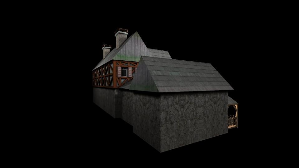 Medieval House 2 ( 92.24KB jpg by gorandodic )