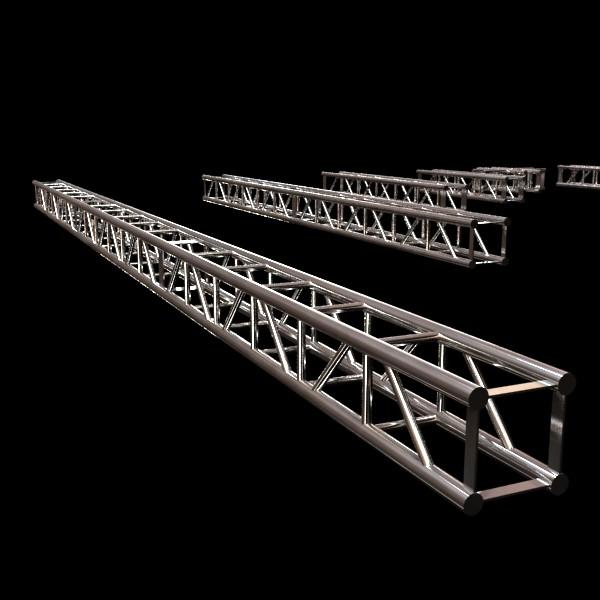 metal truss system high detail 3d model 3ds max fbx obj 130996