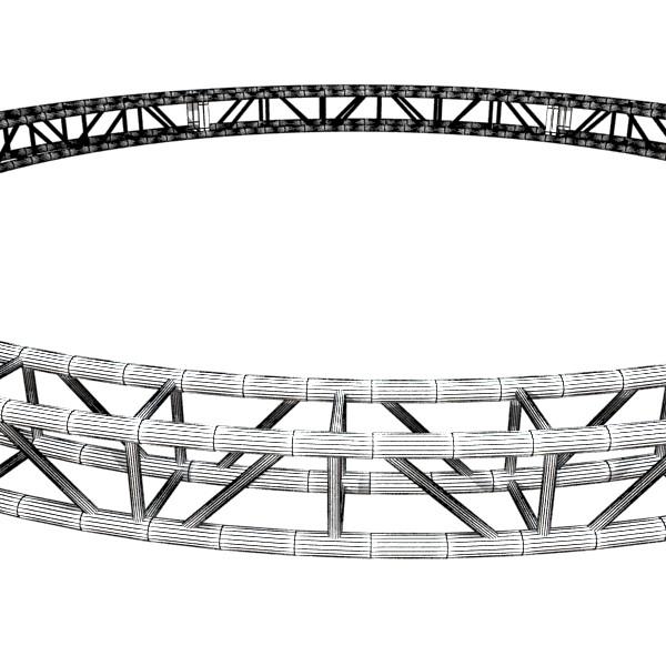 metal truss system high detail 3d model 3ds max fbx obj 131001