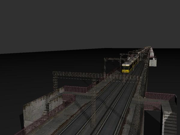 metro bridge 3d model 129145