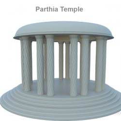 Parthia Temple ( 150.43KB jpg by rmodeler )