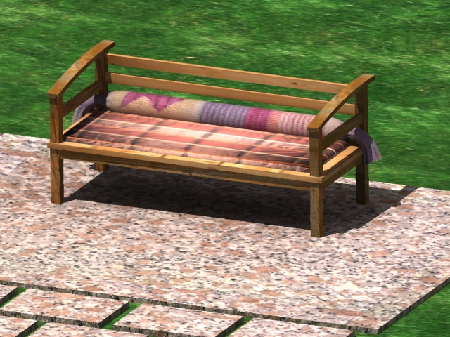 patio swimming pool 3d model max 142022