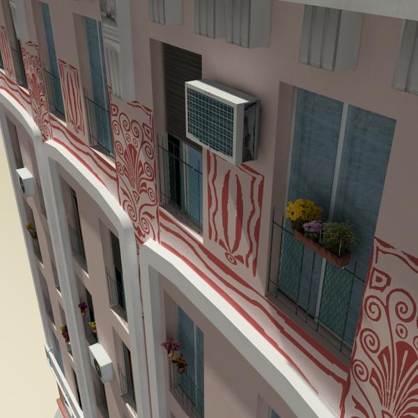 photorealistic low poly building 20 3d model 3ds max obj 149899