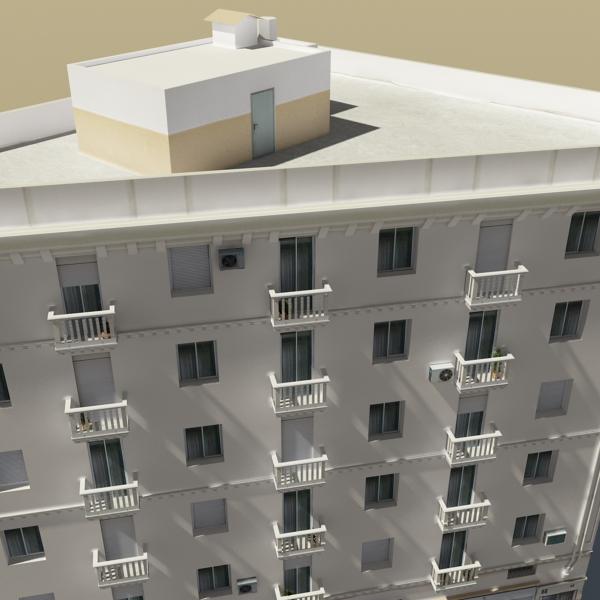 photorealistic low poly building 7 3d model max obj 148738