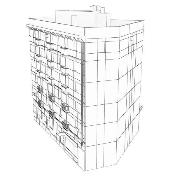 photorealistic low poly building 7 3d model max obj 148742