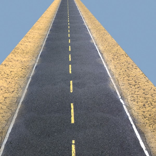 realistic desert road high resolution 3d model 3ds max fbx obj 130075