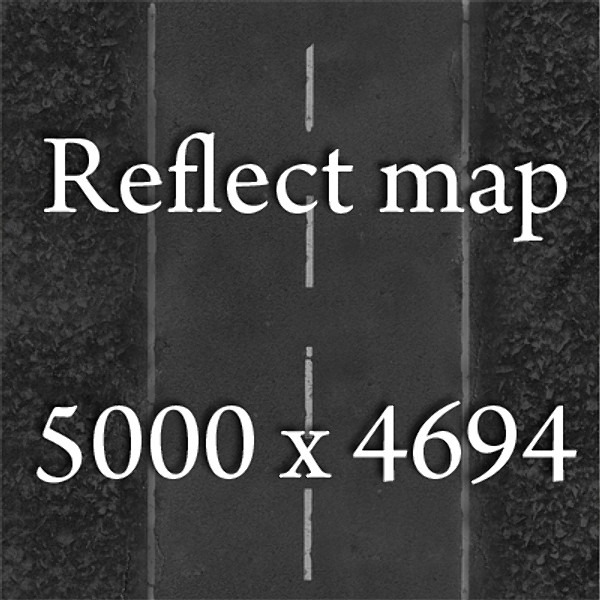 realistic desert road high resolution 3d model 3ds max fbx obj 130083