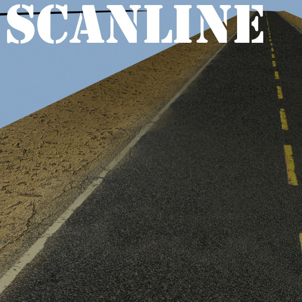 realistic desert road high resolution 3d model 3ds max fbx obj 130086