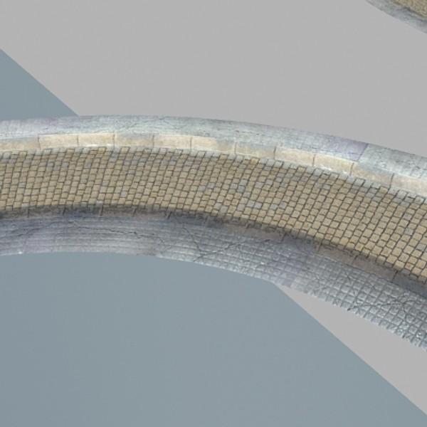 realistic old road high res 5000 x 3000 3d model 3ds max fbx obj 129949