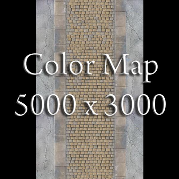 realistic old road high res 5000 x 3000 3d model 3ds max fbx obj 129950