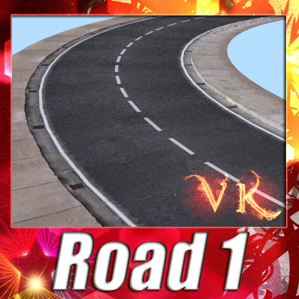 realistic road high res 5980 x 4248 3d model 3ds max fbx obj 129851