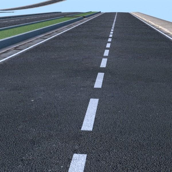realistic road high res 5980 x 4248 3d model 3ds max fbx obj 129855