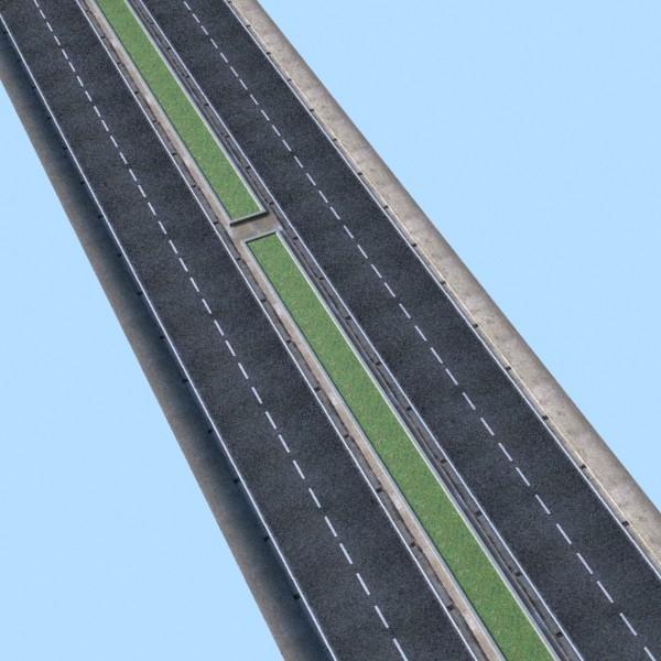 realistic road high res 5980 x 4248 3d model 3ds max fbx obj 129857