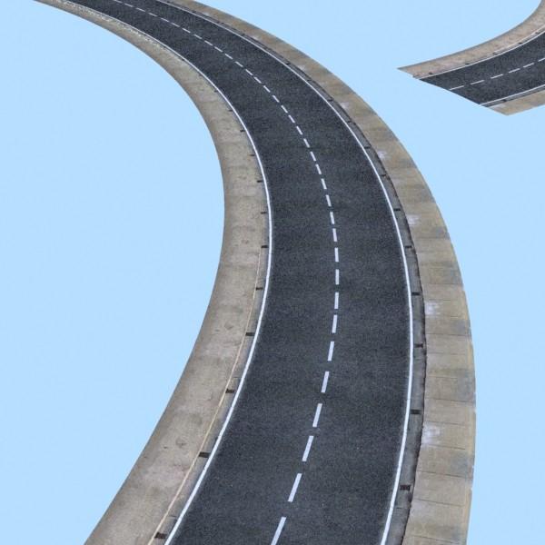 realistic road high res 5980 x 4248 3d model 3ds max fbx obj 129858