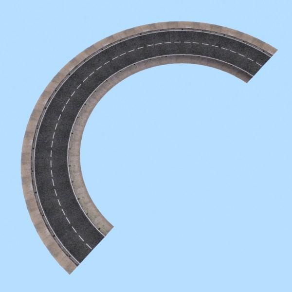 realistic road high res 5980 x 4248 3d model 3ds max fbx obj 129859