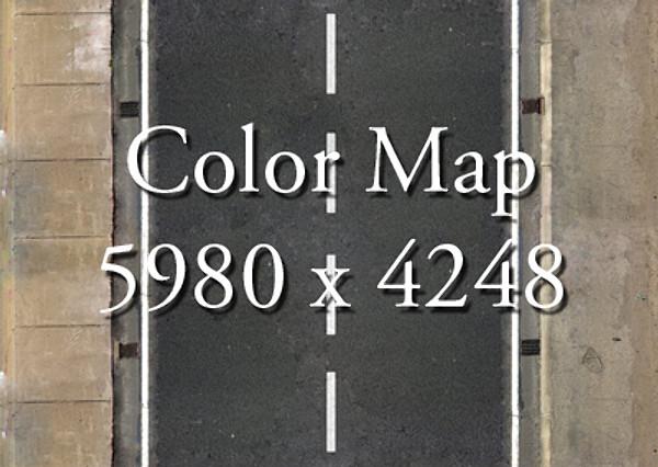 realistic road high res 5980 x 4248 3d model 3ds max fbx obj 129867