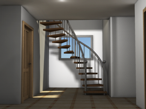residential solar house 3d model 3ds max lwo obj 127842