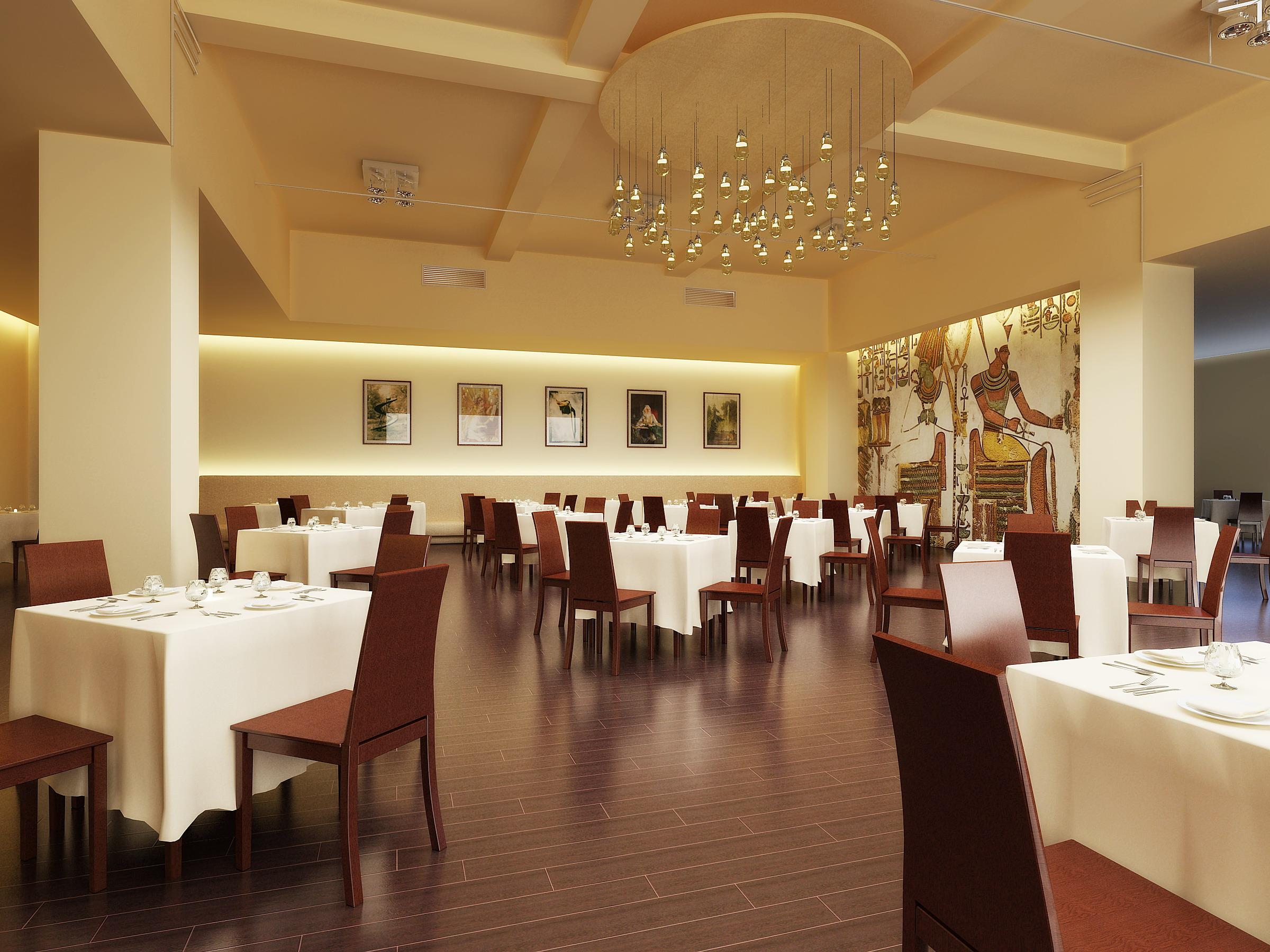 restaurant 057 3d model max 120176