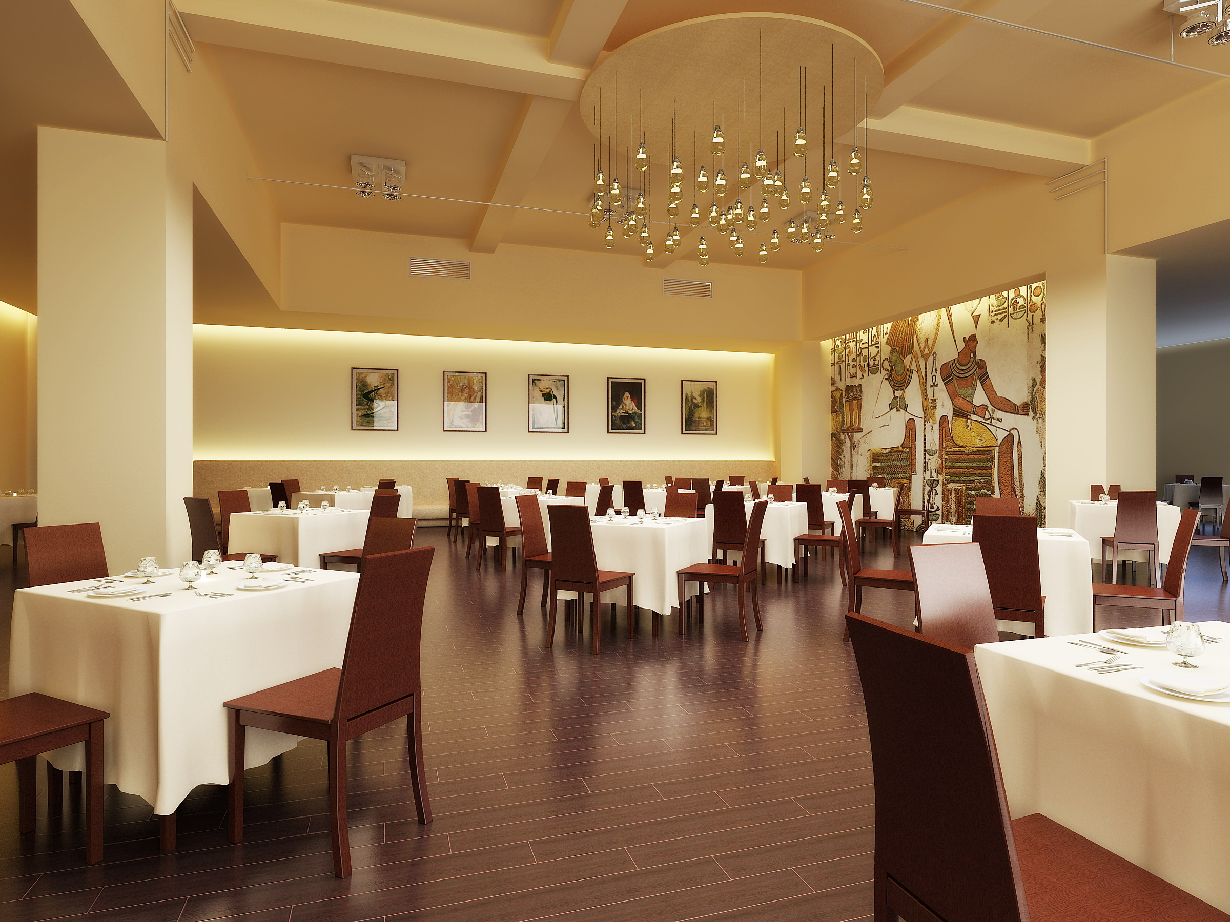 ресторан 057 3d загвар max 120176