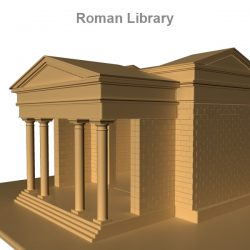 Roman Library   ( 194.92KB jpg by rmodeler )