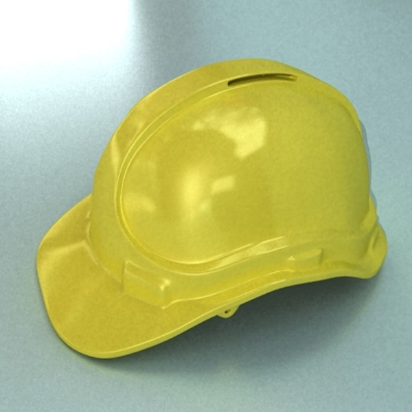 safety helmet 3d model 3ds max fbx 129708