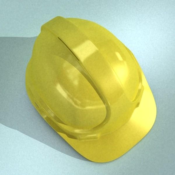 safety helmet 3d model 3ds max fbx 129709