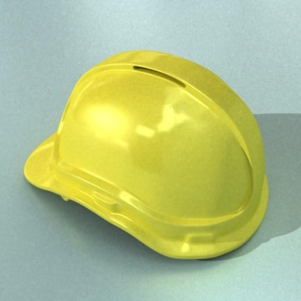 safety helmet 3d model 3ds max fbx 129710
