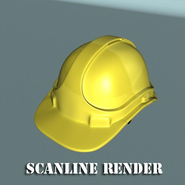 safety helmet 3d model 3ds max fbx 129712