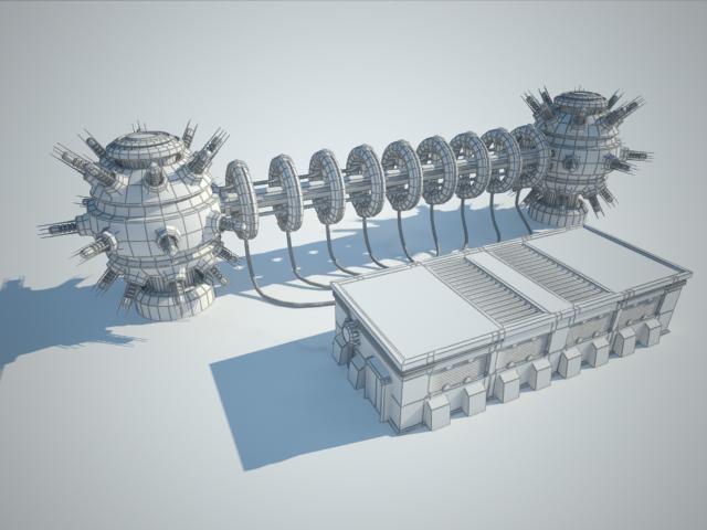 Sci Fi Building 13