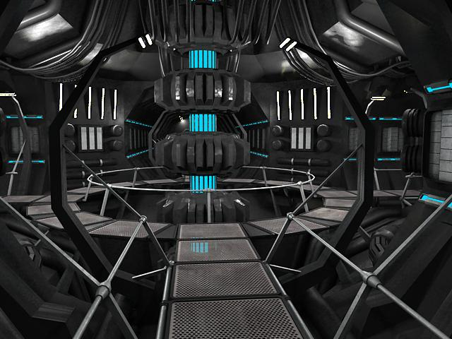scifi interior 3d model 3ds max fbx obj 119608