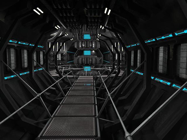 scifi interior 3d model 3ds max fbx obj 119609
