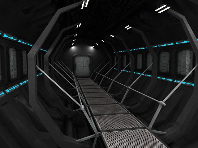 scifi interior 3d model 3ds max fbx obj 119610