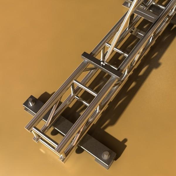 stage speaker truss high detail 3d model 3ds max fbx obj 130921