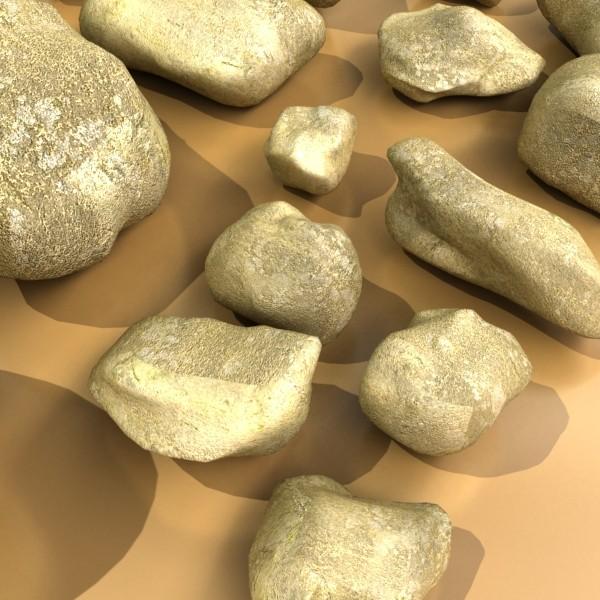 stones 02 high resolution textures 3d model 3ds max fbx obj 131960