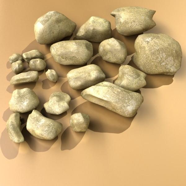 stones 02 high resolution textures 3d model 3ds max fbx obj 131962