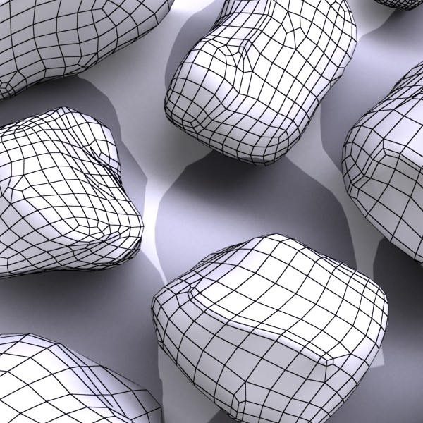 stones 02 high resolution textures 3d model 3ds max fbx obj 131967