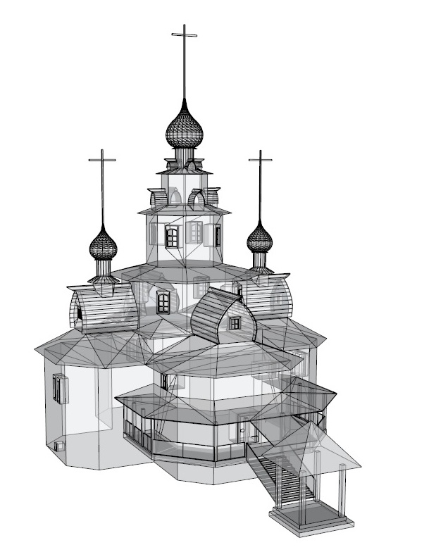 temple 3d model 3ds dxf dwg skp obj 163689