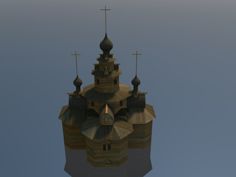 Temple 3d model 3ds dxf dwg  obj 163688